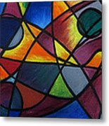 Life Colors Metal Print
