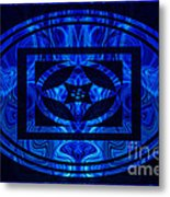 Life Force Within Abstract Healing Artwork Metal Print