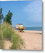 Life Guard Station Metal Print