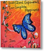 Life - Healing Art Metal Print by Absinthe Art By Michelle LeAnn Scott
