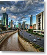 Life In The Fast Lane Metal Print