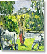 Life In The Fields Metal Print