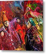 Life Is A Carnival 02 Metal Print