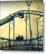 Life Is A Rollercoaster Metal Print
