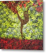 Life Is But A Dance Metal Print