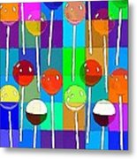 Life Is Full Of Lollipops Metal Print
