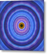 Life Light - Abstract Art By Sharon Cummings Metal Print