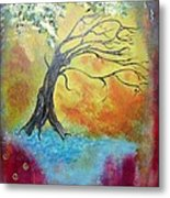 Life Renewing Metal Print