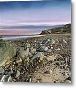 Life Rocks Sunset Metal Print