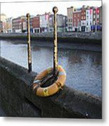 Life Saver -  Swiffey River - Dublin Ireland Metal Print