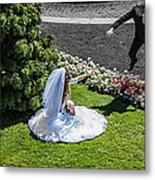 Life Story Stepping Into A New World Metal Print