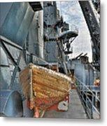 Lifeboat Metal Print