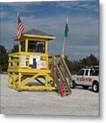Lifeguard And Beachpatrol Metal Print