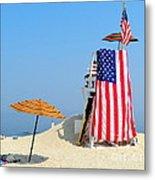 Lifeguard 9-11 Tribute Metal Print