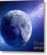 Lifeless Earth Metal Print