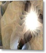 Light 2 Metal Print