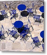Light And Shadow In Hydra Island Metal Print