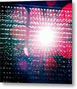Light Beams Metal Print