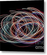 Light Circles Metal Print
