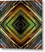 Light Design Six Metal Print