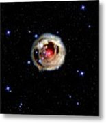 Light Echoes From Exploding Star Metal Print