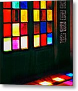 Light Entrance Metal Print