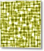 Light Green Abstract Metal Print