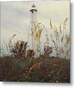 Light House Landscape Metal Print