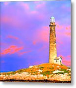 Light House Onthatcher Island Metal Print
