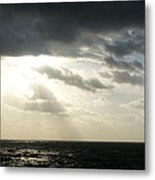 Light In The Triangle Metal Print