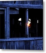 Light In The Window Metal Print