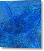 Light It Up Blue Metal Print