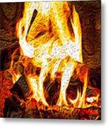 Light My Fire I Metal Print