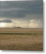 Light Near The End Of The Storm Metal Print
