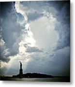 Light Of Liberty Metal Print