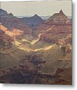 Light On The Canyons Metal Print