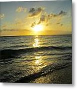 Light On The Sea Metal Print
