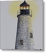 Light On The Sound Metal Print