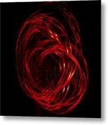 Light Painting 2 Metal Print