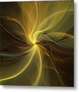 Light Painting Metal Print