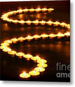 Light Path Metal Print