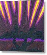 Light Penetrates The Gloom Metal Print