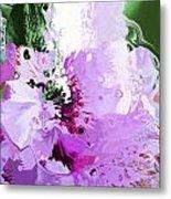 Light Pink Flower Metal Print