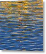 Light Reflections On The Water Metal Print