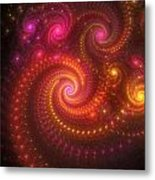 Light Show Metal Print