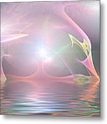 Light Source Metal Print