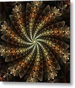 Light Spiral Metal Print