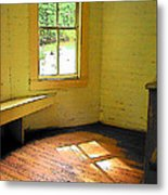Light Through The Window Metal Print