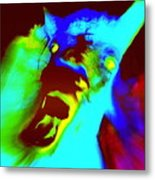 Come On Baby Light Me Up Or Leave Me In The Darkness Forever    Metal Print