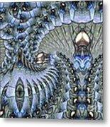 Lighted Cavern Metal Print